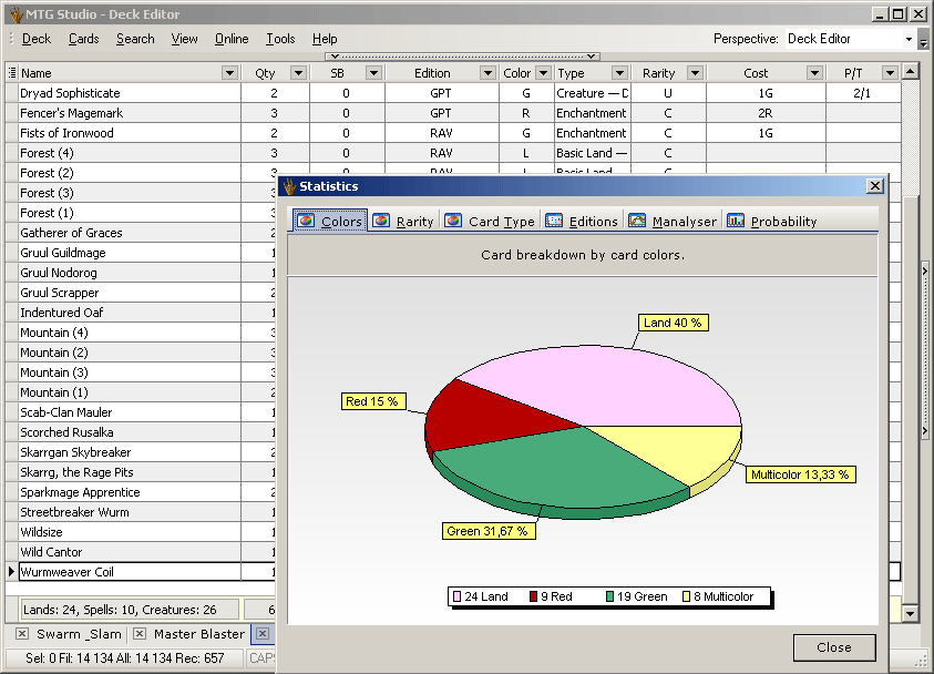 MTG Studio - Deck Builder and Collection Editor